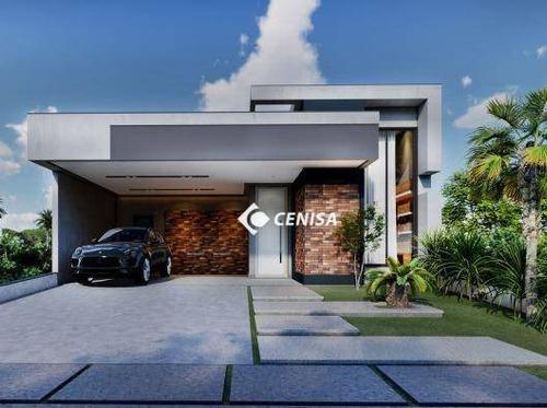 Imagem 1 de 7 de Casa À Venda, 188 M² Por R$ 1.299.000,00 - Condomínio Piemonte - Indaiatuba/sp - Ca2529