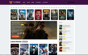 Tema Toroplay Wordpress - Clone Netflix