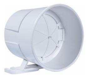 Sirene Piezoelétrica Rcg Para Alarme   Branca