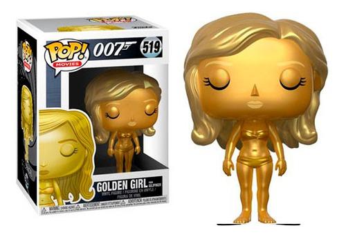 Imagen 1 de 1 de Golden Girl James Bond 007 - Funko Pop Original