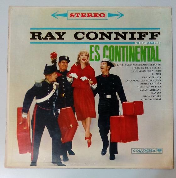 Ray Conniff - Es Continental ... Disco De Vinilo