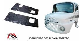 Jogo Forro Dos Pedais 1113 / 1313 / 2013 - Torpedo