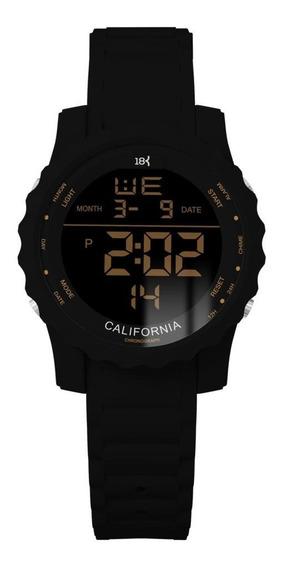 Relogio 18k Watches California Original Frete Grátis