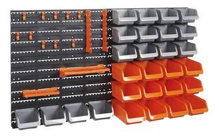 Kit Organizador Muro Para Herramientas Con 44 Piezas