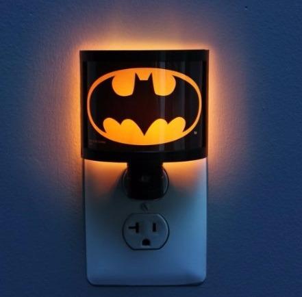 Luminaria Logo Batman Night Light Ideal Para Crianças
