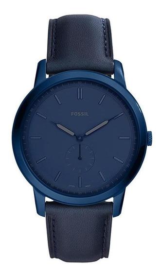 Relógio Fossil Masculino The Minimalist Azul - Fs5448/0an