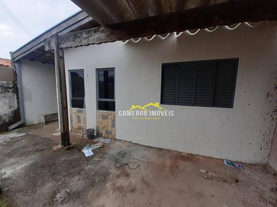 Casa Com 2 Dormitórios Para Alugar, 85 M² Por R$ 850/mês - Jardim Paz - Americana/sp - Ca2332