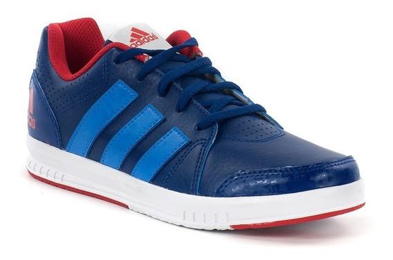 Tenis adidas Niños Azul Marino Lk Trainer Escolares Aq3723