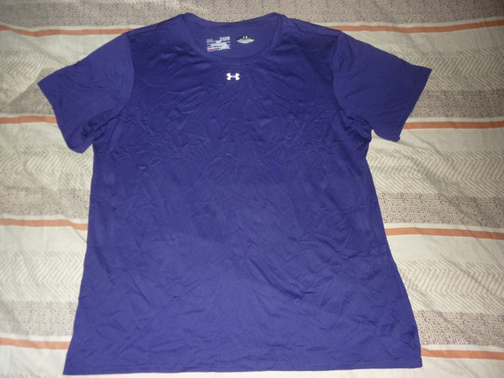 E Remera Dama Under Armour Violeta Oscuro Art 49229