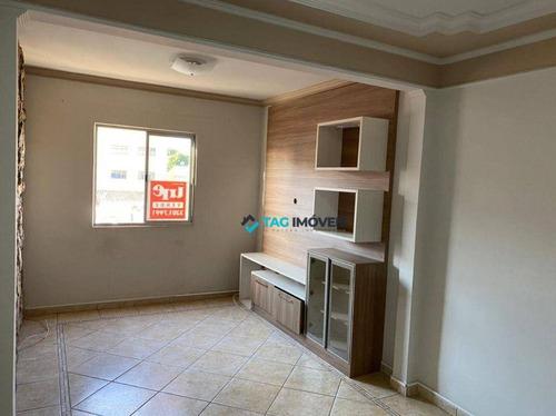 Imagem 1 de 12 de Apartamento Com 2 Dormitórios, 57 M² - Venda Por R$ 225.000,00 Ou Aluguel Por R$ 1.300,00/mês - Parque Itália - Campinas/sp - Ap2274