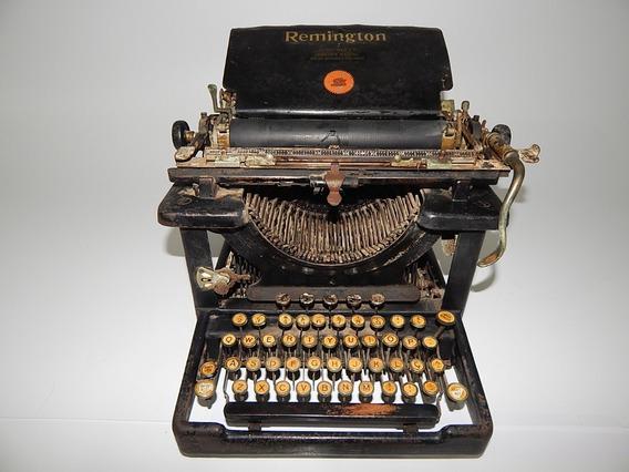 Antiga Maquina De Escrever Remington 11 1922