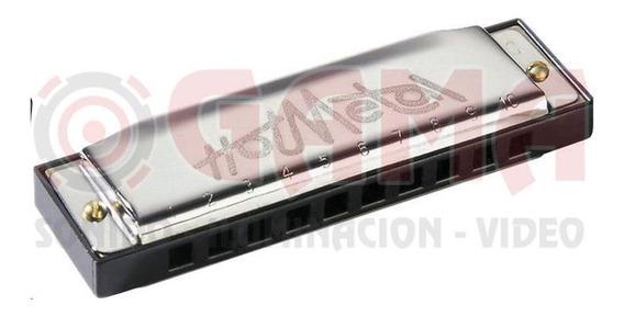 Armonica Hohner Hotmetal 572-a, 10x2 Voces, Eb La 15001907