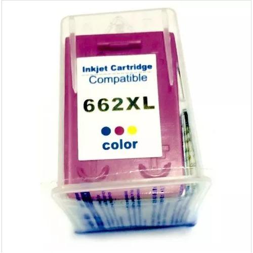 Cartucho 662 Color Xl Compatível
