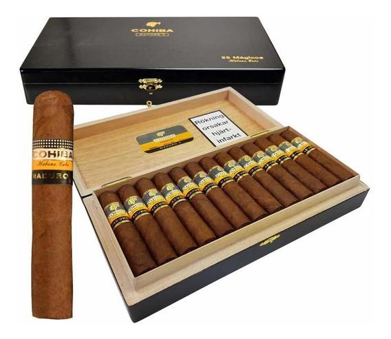 Habanos- Cohiba Maduro 5 Mágicos X 25- Cigarro