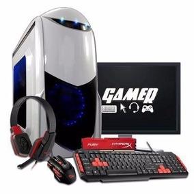 Pc Completo Gamer Core I5 7400, 16gb, Gtx1050, Lcd 19