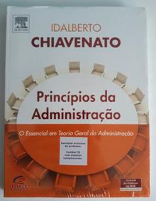Princípios Da Administração Chiavenato + Gestão De Pessoas