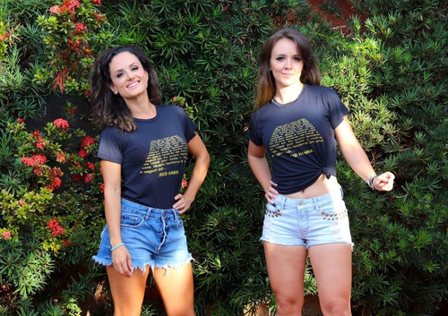 Camiseta Seguir Só Rod Hanna Feminina