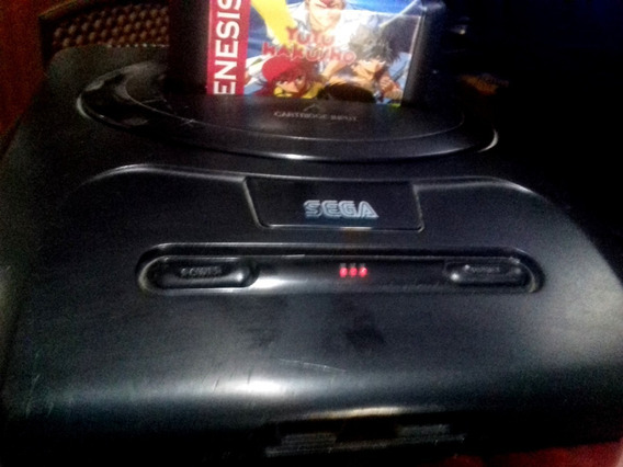 Mega Drive 3 Chaveado Roda Tudo Com 3 Jogos Mickey Yu Yu Hakusho + Manete