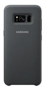 Capa Protetora Samsung Para Galaxy S8 Prata Silicone
