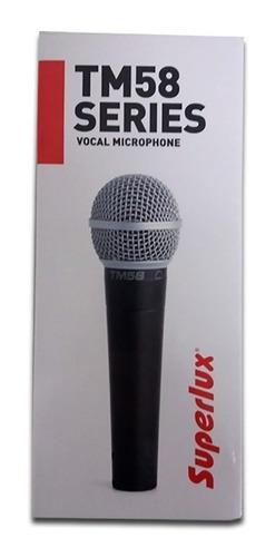 Microfone Superlux Tm58 Vocal