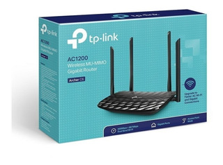 Tp Link Router Archer C6 Mu-mimo De Dual Band Ac1200