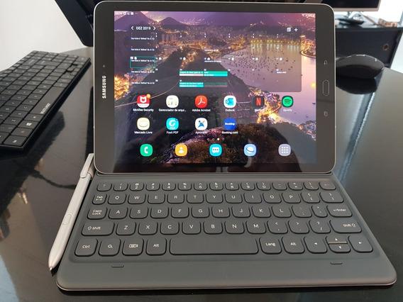 Tablet Samsung Galaxy Tab S3 32gb (prata) + Keyboard Case