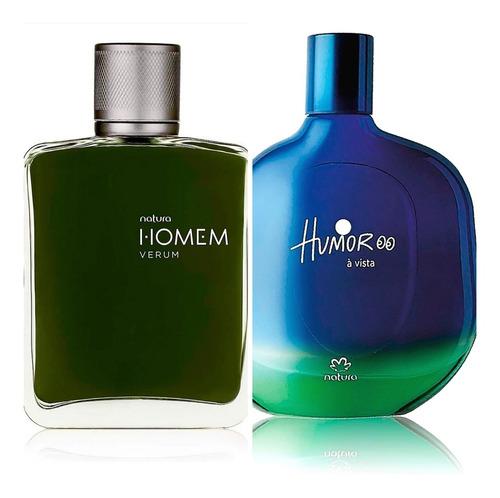 Perfumes Homem Verum + Humor A Vista Na - mL a $383