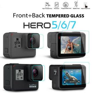 Vidrio Templado Protector Para Cámara Gopro Hero 5, 6 Y 7