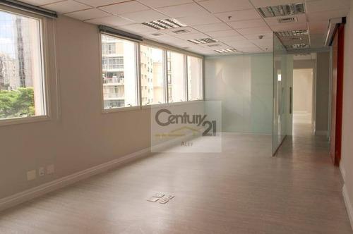 Conjunto Para Alugar, 169 M² Por R$ 11.000,00/mês - Santa Cecília - São Paulo/sp - Cj0017