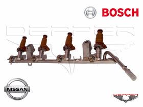 Flauta Completa Com Bicos E Velas Nissan Sentra 2.0 Flex