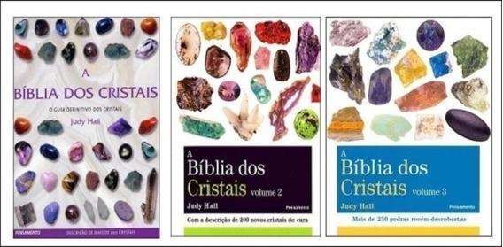 Kit Livros - A Bíblia Dos Cristais - Vol. 1, 2 E 3 Judy Hall