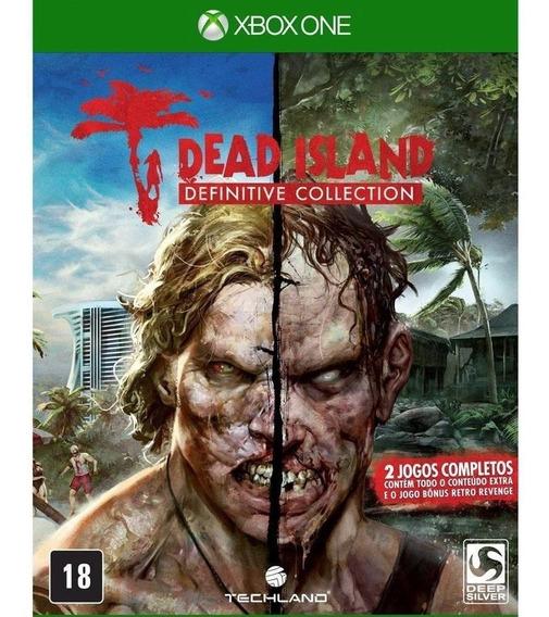Dead Island Definitive Collection Xbox One Mídia Física Novo