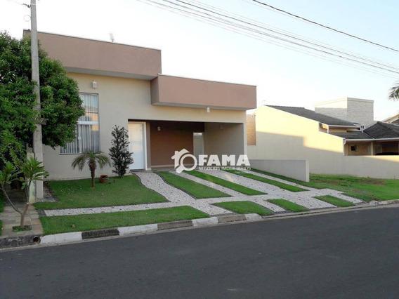Casa Residencial À Venda, Condomínio Terras Do Fontanário, Paulínia - Ca1248. - Ca1248