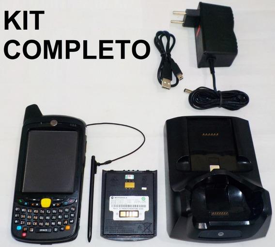 Kit Completo Coletor De Dados Motorola Mc659b Teclado Qwerty