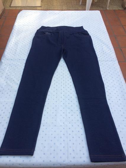 Leggings Calza Pantalon Simil Jean Mujer Talle Grande 5 O 46
