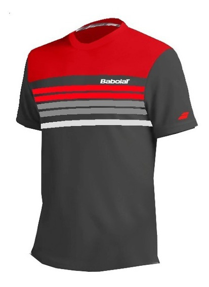 Remera Tenis Babolat Pure Dry Fit Palermo Tenis