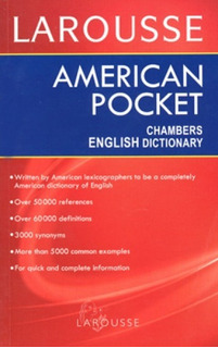 Larousse Diccionario Pocket Inglés/ Inglés Original - Nuevo