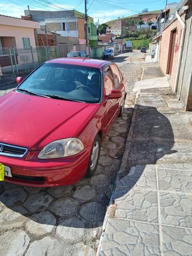 Imagem 1 de 12 de Honda Civic 1998 1.6 Ex 4p