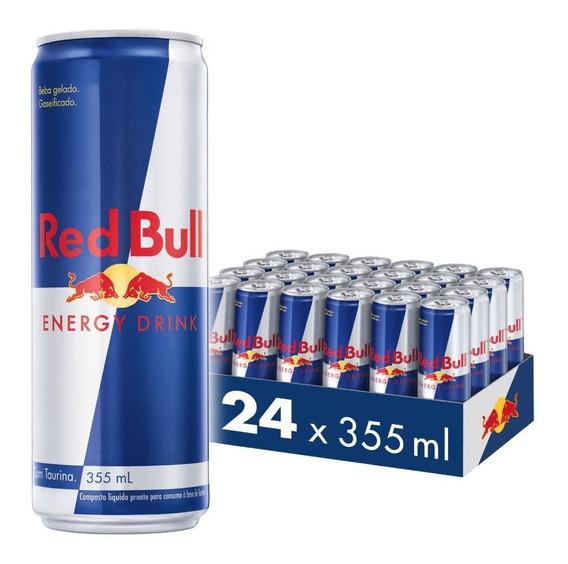 Kit Energético Red Bull Energy Drink, 355 Ml (24 Latas)