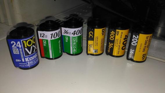 R$ 0,45 (un) Bobina De Filme (negativo) Vazia Kodak Fuji