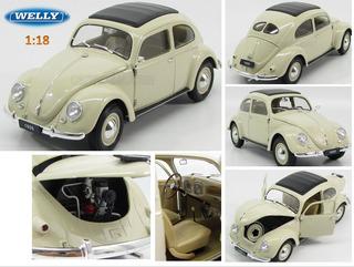 Figura Modelo Auto Coleccion 1:18 Volkswagen Clasico