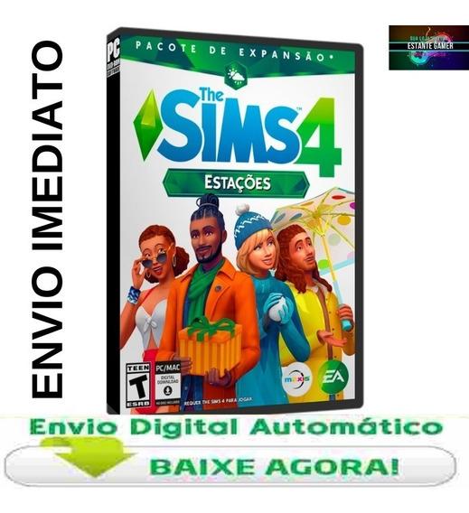 The Sims 4 Estações Pacote De Expansão. Envio Imediato.