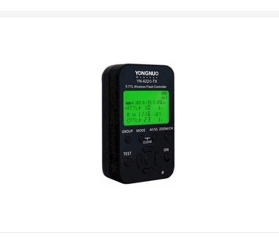 Radio Flash Yongnuo Yn-622c-tx Transmissor - Canon