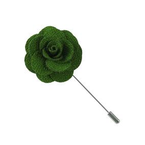 Fistol Flor Color Verde Accesorio Para Traje G-049