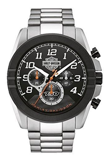 Harley-davidson Reloj Cronógrafo De Seis Manecillas Para Hom