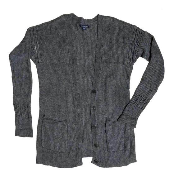 Saco Campera Sweater Mujer Importado American Eagle T. S/m