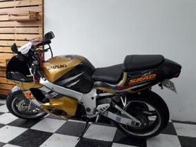 Suzuki Gsx-r 750 Srad 1996 Amarela Tebi Motos