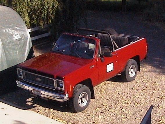 1974 Chevrolet K5 Blazer 4x4