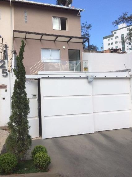 Casa Geminada Entrada Independente De 3 Quartos Com 2 Vagas De Garagem No Bairro Castelo - 1235