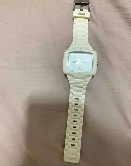 Relógio Nixon Branco Rubber Player